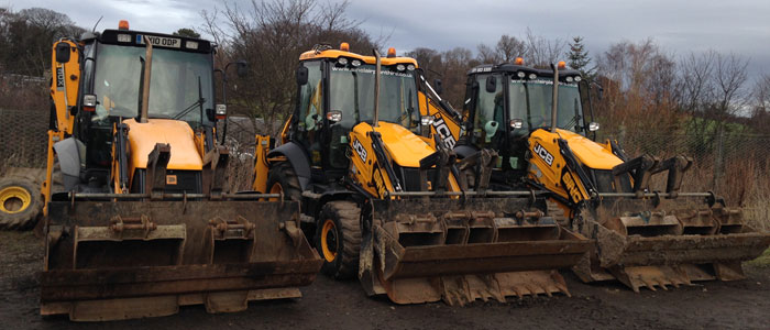 plant hire Edinburgh